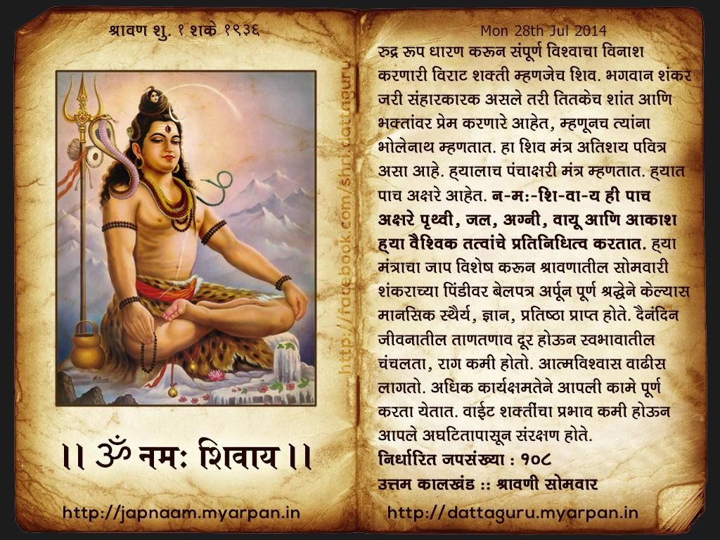 शिव मंत्र (Shiv Mantra)